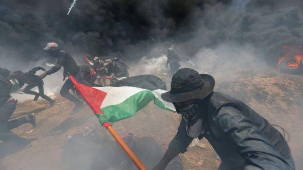 Протесты в Газе