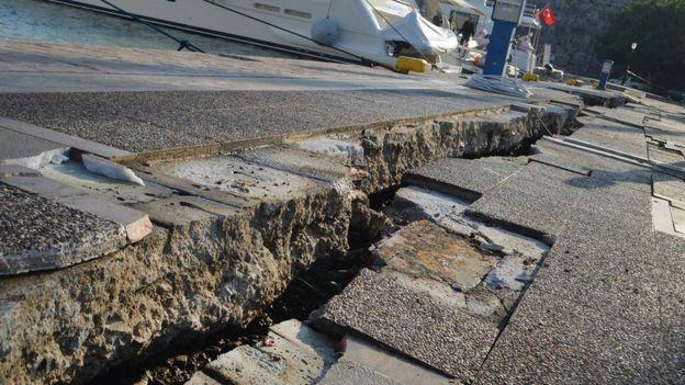 Terremoto en Kos