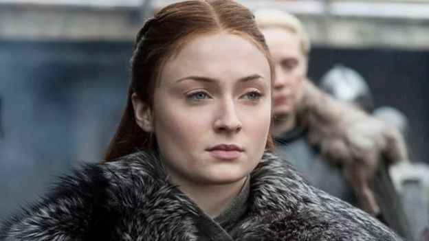 Sansa Stark de Game of Thrones.