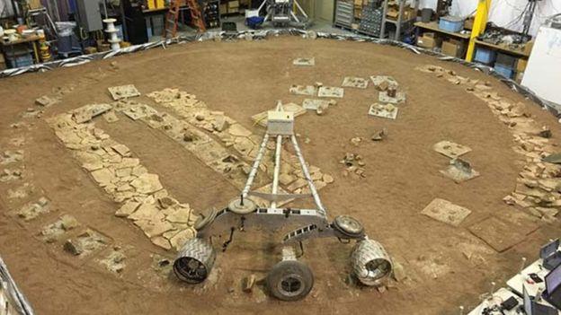 Protótipos de rodas são submetidos a testes na NASA