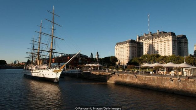 Puerto Madero offers a laid-back Euro-Latin vibe on the waterfront