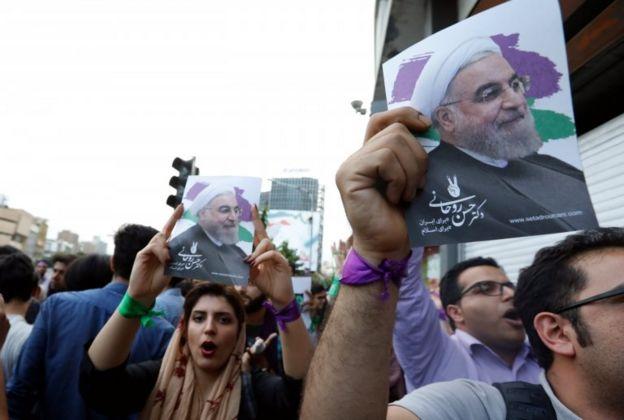 iran'da kutlamalar