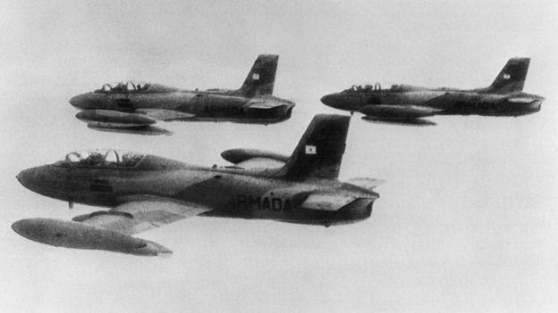 Aviones guerra Malvinas