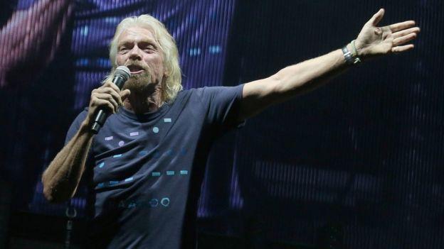 """Branson segura que se inspiró por su participación en el concierto """"Live Aid"""", realizado en 1985 para recaudar fondos para Etiopía."""