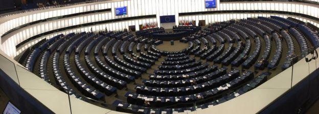 Avrupa Parlamentosu odası, Strazburg, 4 Temmuz 2017