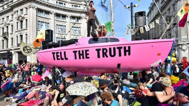 Image result for extinction rebellion tell the truth