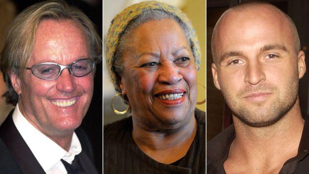 Peter Fonda, Toni Morrison and Ben Unwin