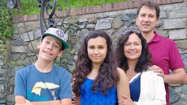 Família de Natasha