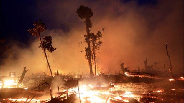 Incêndio em Rondônia