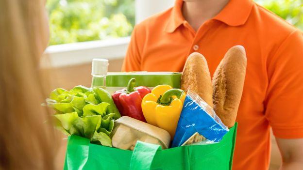 Envío de supermercado