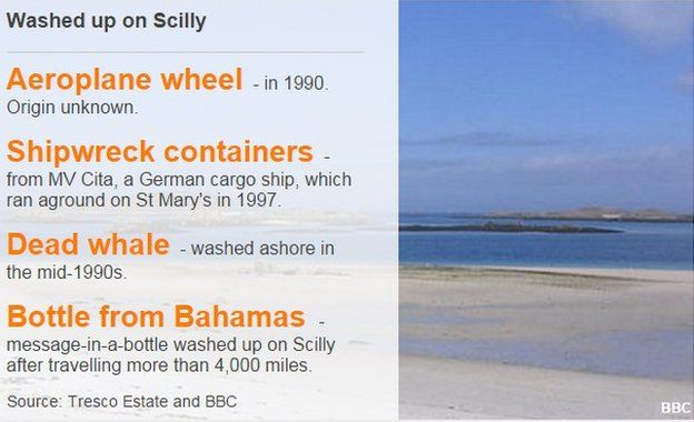 Washed up on Scilly