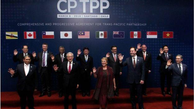 Hiệp định Đối tác Toàn diện và Tiến bộ xuyên Thái Bình Dương có hiệu lực tại Việt Nam kể từ ngày 14 tháng 1