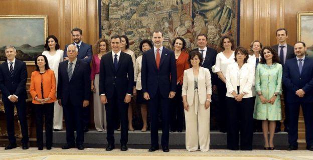 Gabinete de gobierno de España