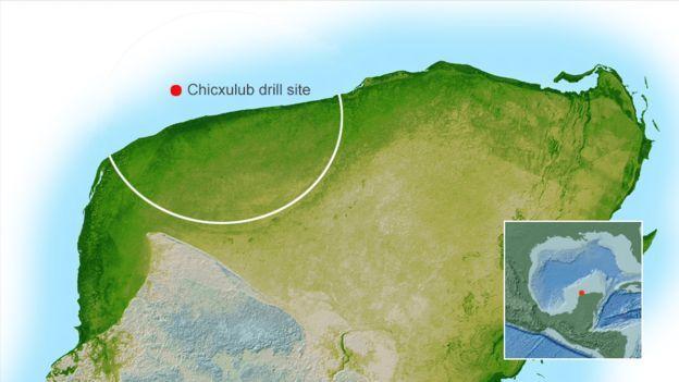 ইউকাটান উপদ্বীপ, মেক্সিকো - যেখানে আঘাত হেনেছিল গ্রহাণু