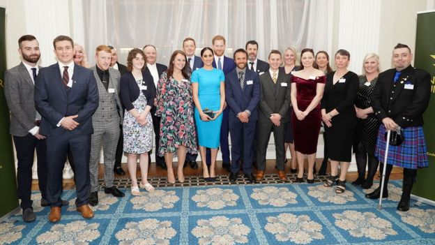 Harry and Meghan at the Endeavour Awards