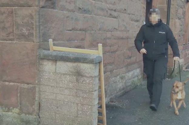 Redada policial Escocia.