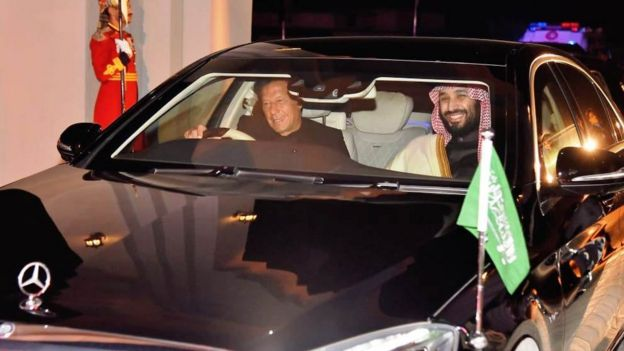 ولی عہد محمد بن سلمان کا دورہ پاکستان