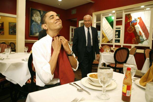 Barack Obama at Dooky Chase