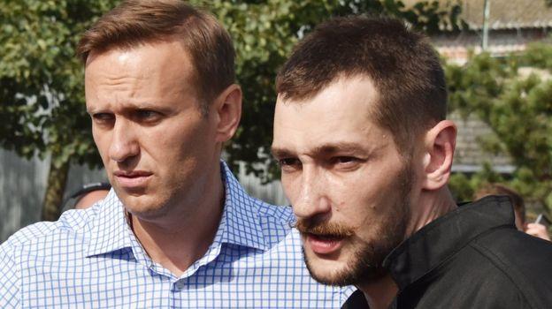 Alexei y Oleg Navalny