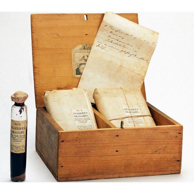 Kit de primeiros socorros para a cólera