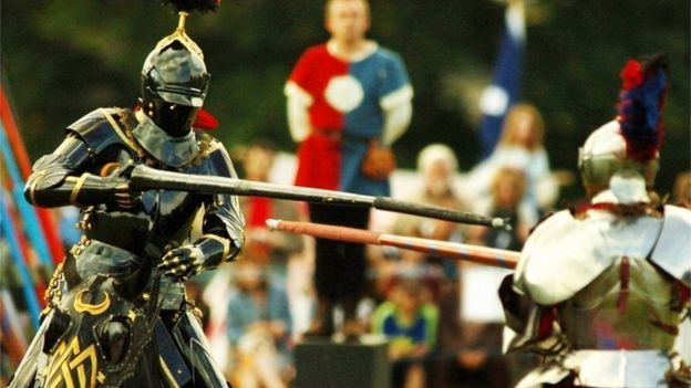 game of thrones effect sees female knights jousting at english