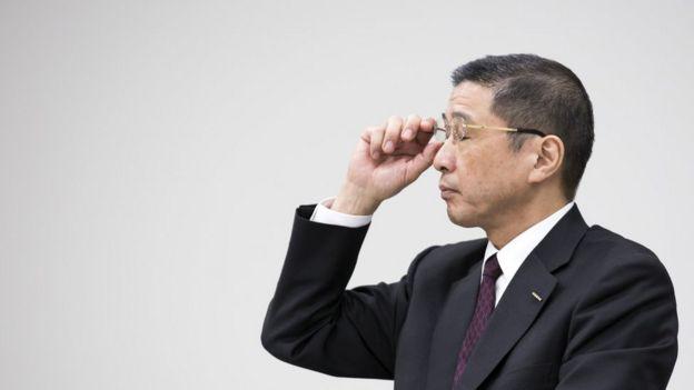 El exdirector ejecutivo de Nissan, Hiroto Saikawa.