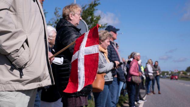 Демонстрация в Дании