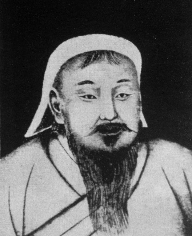 Genghis Khan, líder do império mongol