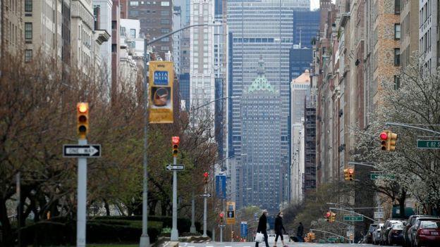 شارع في نيويورك