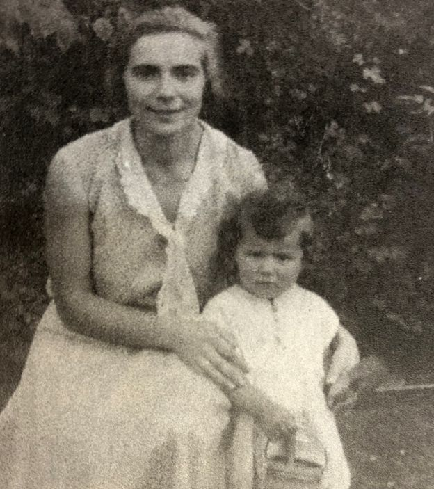 Ruth and her mother, Elly