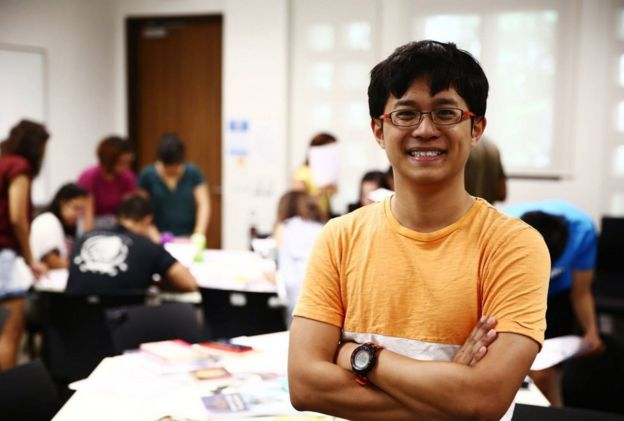 Picture of linguistics student Kevin Martens Wong
