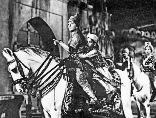 فلم جھانسی کی رانی کا منظر
