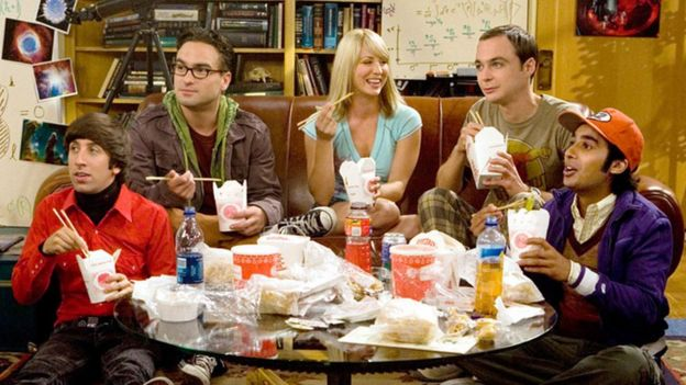 A still from the Big Bang Theory