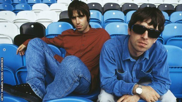 Liam a Noel Gallagher