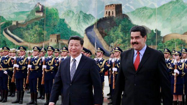Xi Jinping e Maduro