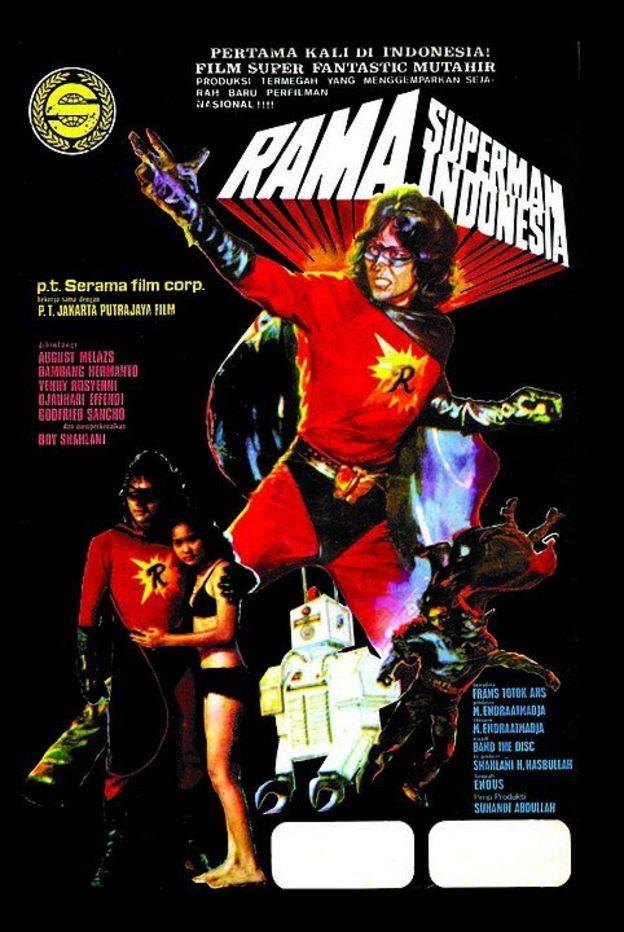 Poster Rama Superman Indonesia