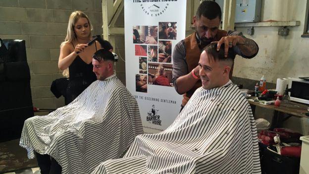 Barber at Peaky Blinders Festival