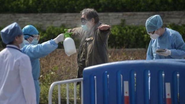 چین، کورونا وائرس