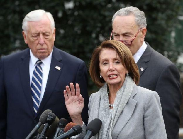 Steny Hoyer, Nancy Pelosi ve Charles Schumer