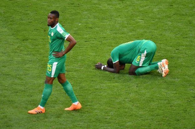 Jugadores de Senegal