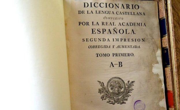 El tronco de todos los diccionarios posteriores es el del Diccionario de autoridades de 1726, recuerda Elena Zamora, directora técnica del DRAE.