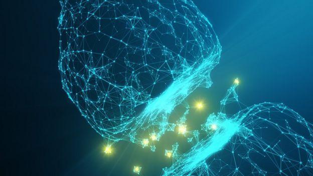 Representación de sinapsis