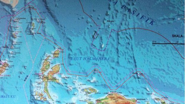 Wilayah laut halmahere | BBC