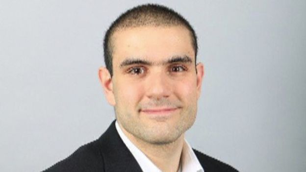 Toronto van attack suspect Alek Minassian, 24 April 2018, from his LinkedIn profile