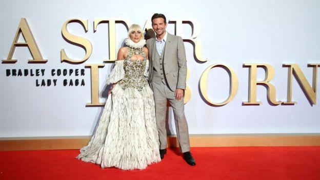 Бредлі Купер та леді Гага
