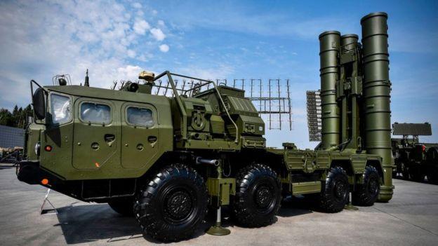 Sistema antimisiles ruso S400.