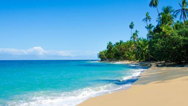 Playa de Chiquita y Cocles en Costa Rica.