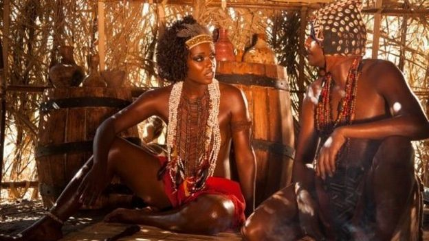 """Escena de la película """"Njinga, reina de Angola"""""""