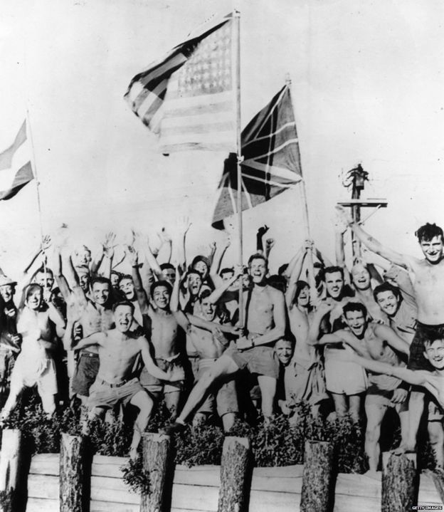 VJ Day: Surviving the horrors of Japan's WW2 camps - BBC News