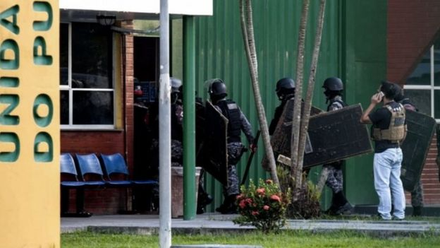 Brazil jail violence: Forty killed in Manaus prisons - BBC News